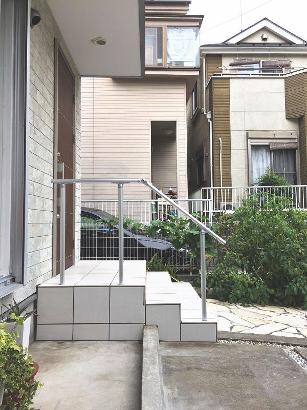 横浜市神奈川区の手すり 施工事例画像02
