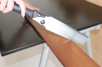 補強板の取付過程3
