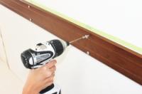 補強板のネジ固定