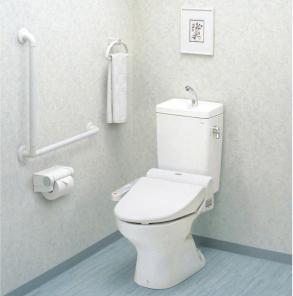 インテリアバーFシリーズ トイレ設置