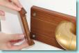 木口化粧材の取付過程2