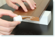 補修塗料の取付過程2
