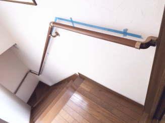 階段手すりの取付方法 手順画像04