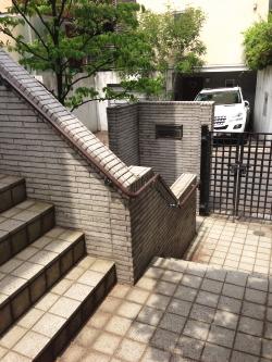 屋外階段用手摺(施工例19)