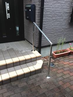 屋外階段の手摺(施工例15)
