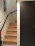 階段手すりの取付工事(パナソニック)ブラック03