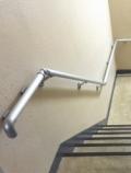 マンション階段手すり工事