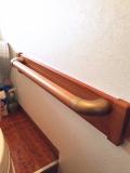 補強板を使ったトイレ手すり