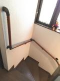 階段・玄関・トイレ手すり 取付工事