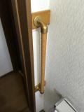 トイレ・階段手すり 取付工事画像