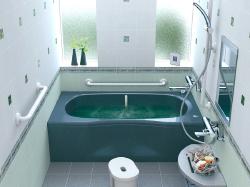 浴室の手すり設置例